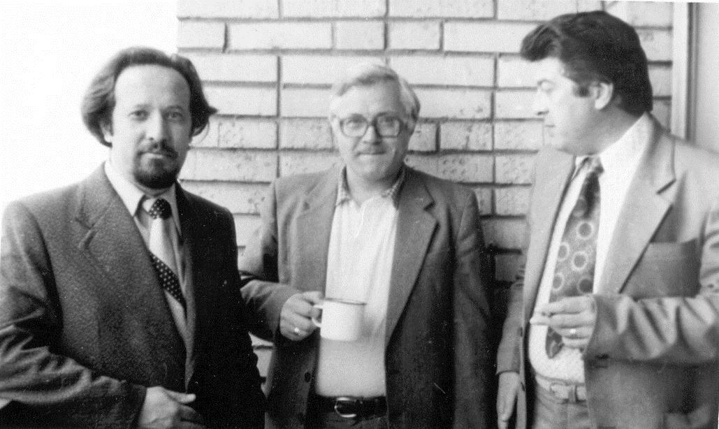Саша Шафиркин, Сева Юргов, Слава Кузин, 1983 г